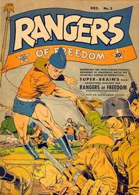 Cover Thumbnail for Rangers of Freedom Comics (Fiction House, 1941 series) #2