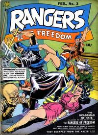 Cover Thumbnail for Rangers of Freedom Comics (Fiction House, 1941 series) #3