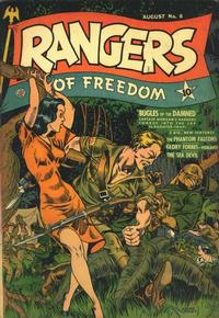 Cover Thumbnail for Rangers of Freedom Comics (Fiction House, 1941 series) #6