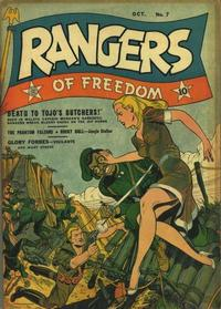 Cover Thumbnail for Rangers of Freedom Comics (Fiction House, 1941 series) #7