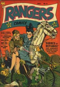 Cover Thumbnail for Rangers Comics (Fiction House, 1942 series) #8