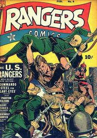 Cover Thumbnail for Rangers Comics (Fiction House, 1942 series) #9