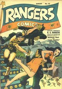 Cover Thumbnail for Rangers Comics (Fiction House, 1942 series) #12