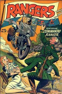 Cover Thumbnail for Rangers Comics (Fiction House, 1942 series) #18