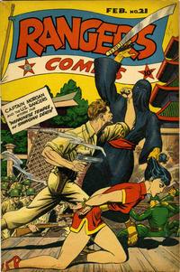 Cover Thumbnail for Rangers Comics (Fiction House, 1942 series) #21