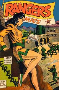 Cover Thumbnail for Rangers Comics (Fiction House, 1942 series) #22