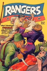 Cover Thumbnail for Rangers Comics (Fiction House, 1942 series) #24