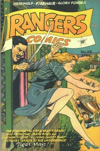 Cover Thumbnail for Rangers Comics (Fiction House, 1942 series) #28