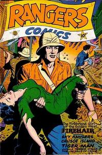 Cover Thumbnail for Rangers Comics (Fiction House, 1942 series) #30
