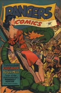 Cover Thumbnail for Rangers Comics (Fiction House, 1942 series) #31