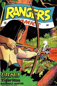 Cover Thumbnail for Rangers Comics (Fiction House, 1942 series) #34