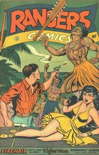 Cover Thumbnail for Rangers Comics (Fiction House, 1942 series) #35