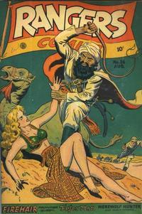 Cover Thumbnail for Rangers Comics (Fiction House, 1942 series) #36