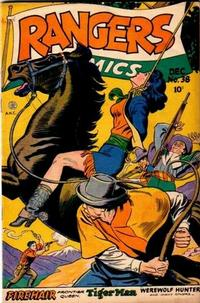 Cover Thumbnail for Rangers Comics (Fiction House, 1942 series) #38