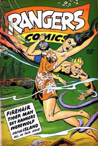 Cover Thumbnail for Rangers Comics (Fiction House, 1942 series) #39