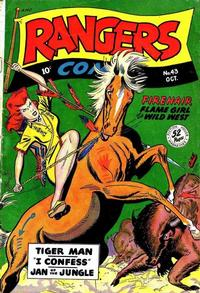 Cover Thumbnail for Rangers Comics (Fiction House, 1942 series) #43