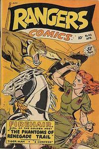 Cover Thumbnail for Rangers Comics (Fiction House, 1942 series) #46