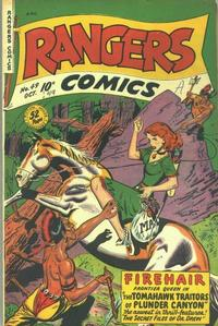 Cover Thumbnail for Rangers Comics (Fiction House, 1942 series) #49