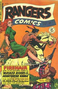Cover Thumbnail for Rangers Comics (Fiction House, 1942 series) #52