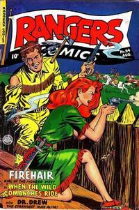 Cover Thumbnail for Rangers Comics (Fiction House, 1942 series) #54