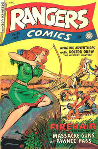 Cover Thumbnail for Rangers Comics (Fiction House, 1942 series) #55
