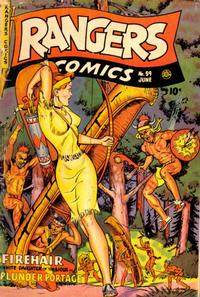Cover Thumbnail for Rangers Comics (Fiction House, 1942 series) #59