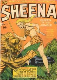 Cover Thumbnail for Sheena, Queen of the Jungle (Fiction House, 1942 series) #1