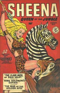 Cover Thumbnail for Sheena, Queen of the Jungle (Fiction House, 1942 series) #5