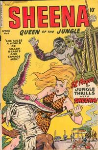 Cover Thumbnail for Sheena, Queen of the Jungle (Fiction House, 1942 series) #6