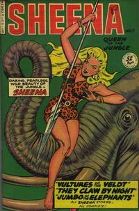 Cover Thumbnail for Sheena, Queen of the Jungle (Fiction House, 1942 series) #7