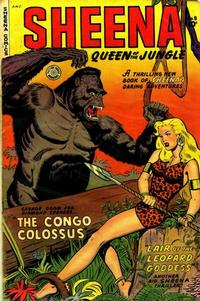 Cover Thumbnail for Sheena, Queen of the Jungle (Fiction House, 1942 series) #8