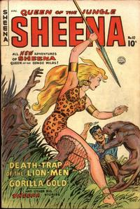 Cover Thumbnail for Sheena, Queen of the Jungle (Fiction House, 1942 series) #10