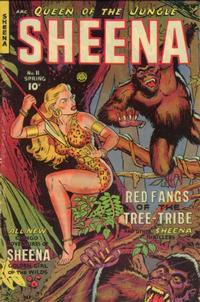 Cover Thumbnail for Sheena, Queen of the Jungle (Fiction House, 1942 series) #11