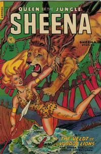 Cover Thumbnail for Sheena, Queen of the Jungle (Fiction House, 1942 series) #13