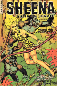 Cover Thumbnail for Sheena, Queen of the Jungle (Fiction House, 1942 series) #14