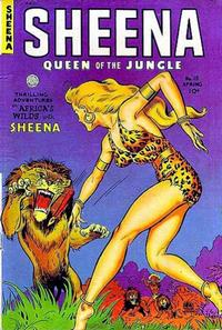 Cover Thumbnail for Sheena, Queen of the Jungle (Fiction House, 1942 series) #15