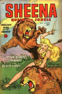 Cover Thumbnail for Sheena, Queen of the Jungle (Fiction House, 1942 series) #16