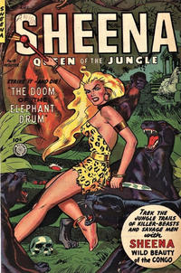Cover Thumbnail for Sheena, Queen of the Jungle (Fiction House, 1942 series) #18