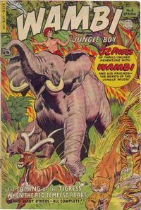 Cover Thumbnail for Wambi, Jungle Boy (Fiction House, 1942 series) #6