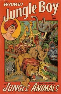 Cover Thumbnail for Wambi, Jungle Boy (Fiction House, 1942 series) #16