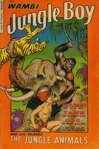 Cover Thumbnail for Wambi, Jungle Boy (Fiction House, 1942 series) #18