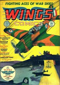 Cover Thumbnail for Wings Comics (Fiction House, 1940 series) #1