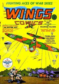 Cover Thumbnail for Wings Comics (Fiction House, 1940 series) #4
