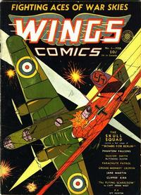 Cover Thumbnail for Wings Comics (Fiction House, 1940 series) #6