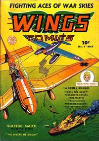 Cover Thumbnail for Wings Comics (Fiction House, 1940 series) #9