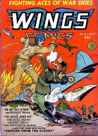 Cover Thumbnail for Wings Comics (Fiction House, 1940 series) #11