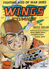 Cover Thumbnail for Wings Comics (Fiction House, 1940 series) #13