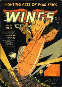 Cover Thumbnail for Wings Comics (Fiction House, 1940 series) #16