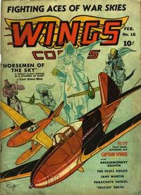 Cover Thumbnail for Wings Comics (Fiction House, 1940 series) #18
