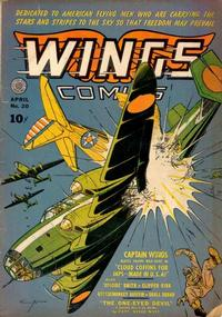 Cover Thumbnail for Wings Comics (Fiction House, 1940 series) #20